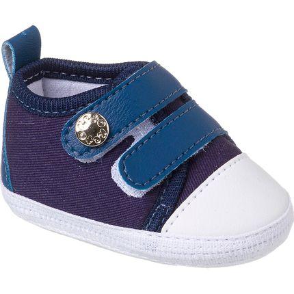 KB3182-44-A-Tenis-para-bebe-Little-Star-Azul-Marinho---Keto-Baby
