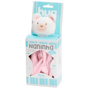 A1408-ROSA-B-Naninha-para-bebe-em-suedine-Ursinho-Rosa---Hug