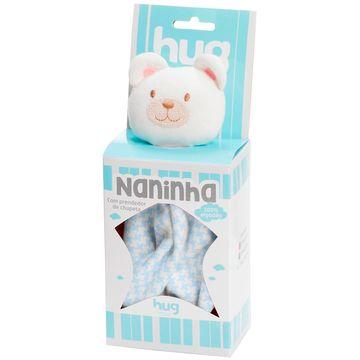 A1408-AZUL-B-Naninha-para-bebe-em-suedine-Ursinho-Azul---Hug