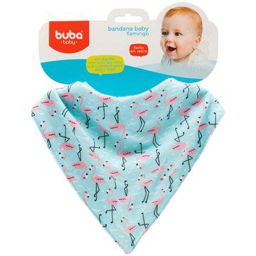 BUBA09780-B-Babador-Bandana-para-bebe-em-malha-Flamingo---Buba
