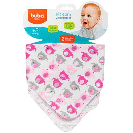 BUBA08271-A-Kit-2-Babadores-Bandana-para-bebe-Elefantinhos---Buba