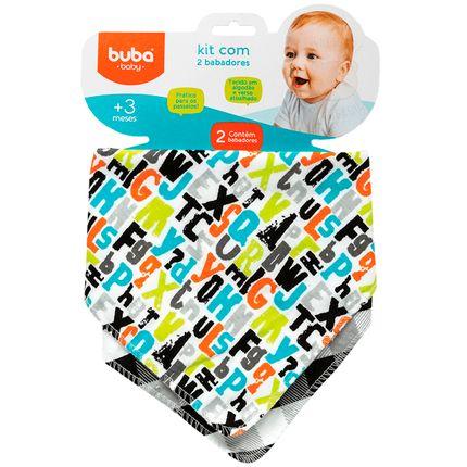 BUBA08272-A-Kit-2-Babadores-Bandana-para-bebe-Letrinhas---Buba