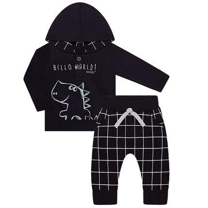 TMX4043-PR_A-moda-bebe-menino-blusao-capuz-calca-saruel-moletom-trex-tmx-no-bebefacil-loja-de-roupas-enxoval-e-acessorios-para-bebes