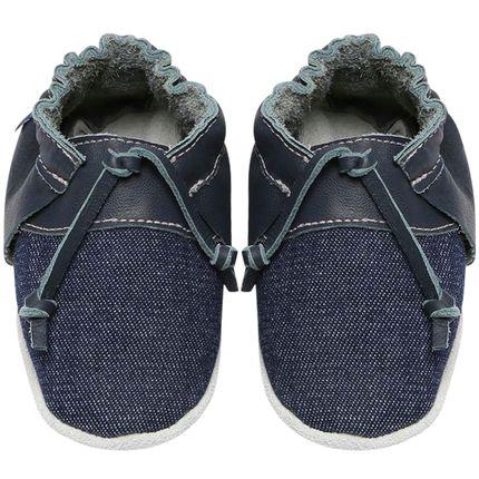 BABO72-sapatinho-bebe-menino-top-sider-jeans-marinho-babo-uabu-no-bebefacil-loja-de-roupas-enxoval-e-acessorios-para-bebes