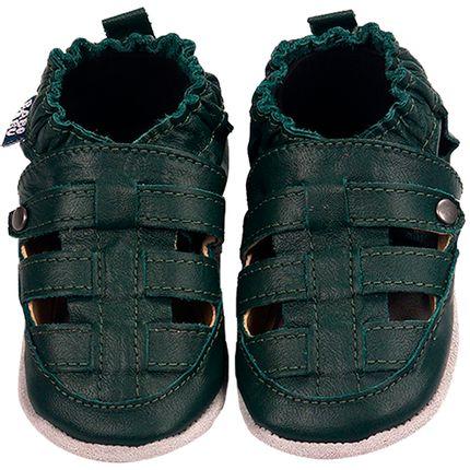 BABO73-sapatinho-bebe-menino-sandalia-franciscana-verde-musgo-babo-uabu-no-bebefacil-loja-de-roupas-enxoval-e-acessorios-para-bebes