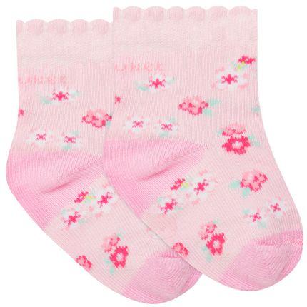 PK6902D-FL_A-moda-bebe-menina-acessorios--meia-soquete-florzinhas-puket-no-bebefacil-loja-de-roupas-enxoval-e-acessorios-para-bebes