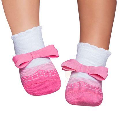 PK6935D-LR_A-moda-bebe-menina-acessorios-meia-soquete-sapatilha-laco-rosa-puket-no-bebefacil-loja-de-roupas-enxoval-e-acessorios-para-bebes