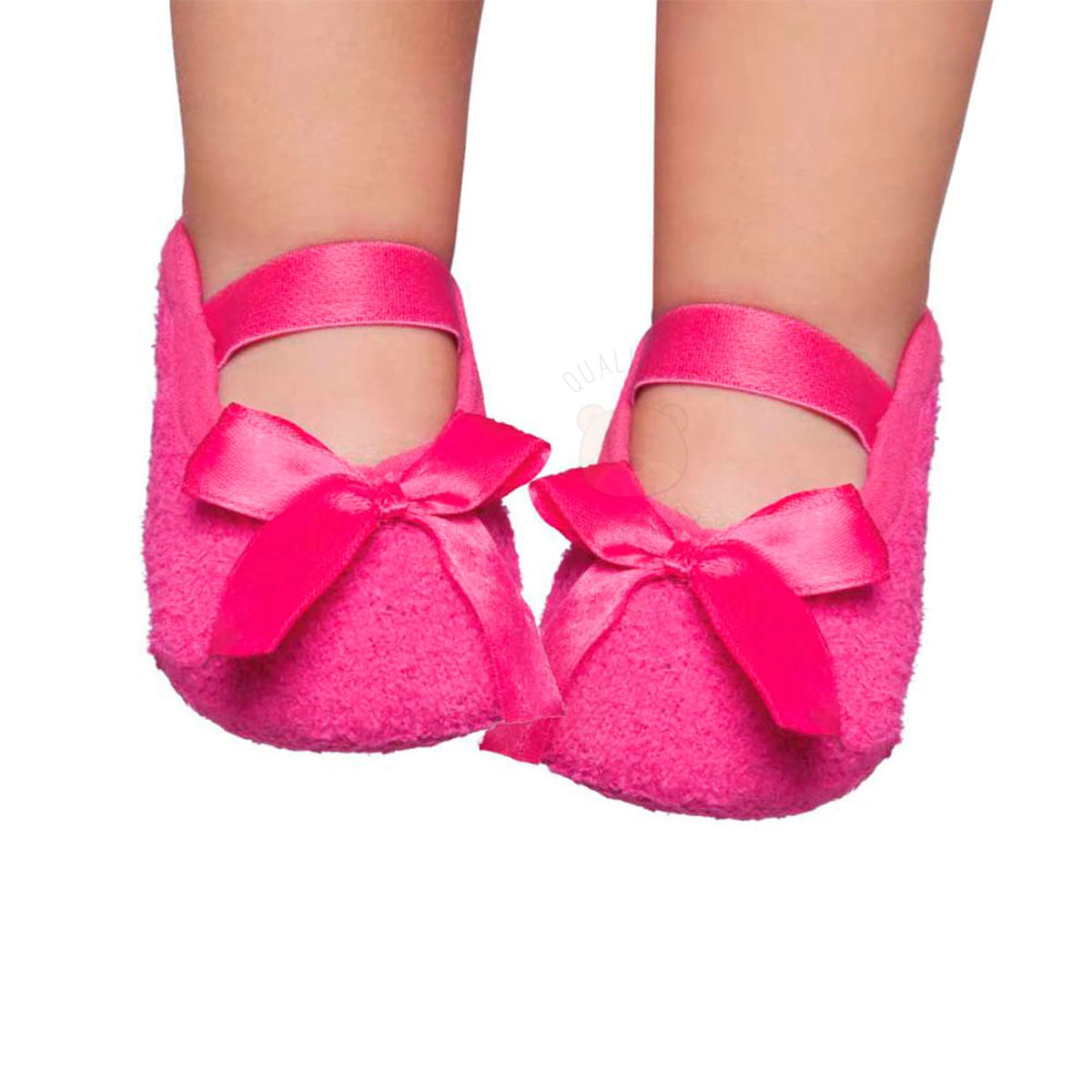 39faf99d95 Meia sapatilha para bebe em soft Pink - Puket no Bebefacil