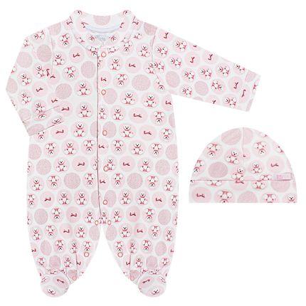 BB6274-RS_A-moda-bebe-menina-macacao-longo-touca-algodao-egipcio-ursinhas-bth-bebe-no-bebefacil-loja-de-roupas-enxoval-e-acessorios-para-bebes