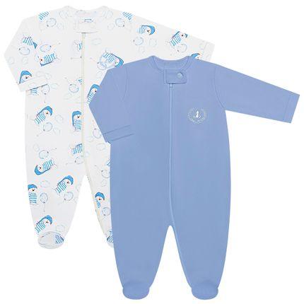 CQ19.093-118_A-moda-bebe-menino-pack-2-macacao-manga-longa-ziper-suedine-pinguim-coquelicot-no-bebefacil-loja-de-roupas-enxoval-e-acessorios-para-bebes