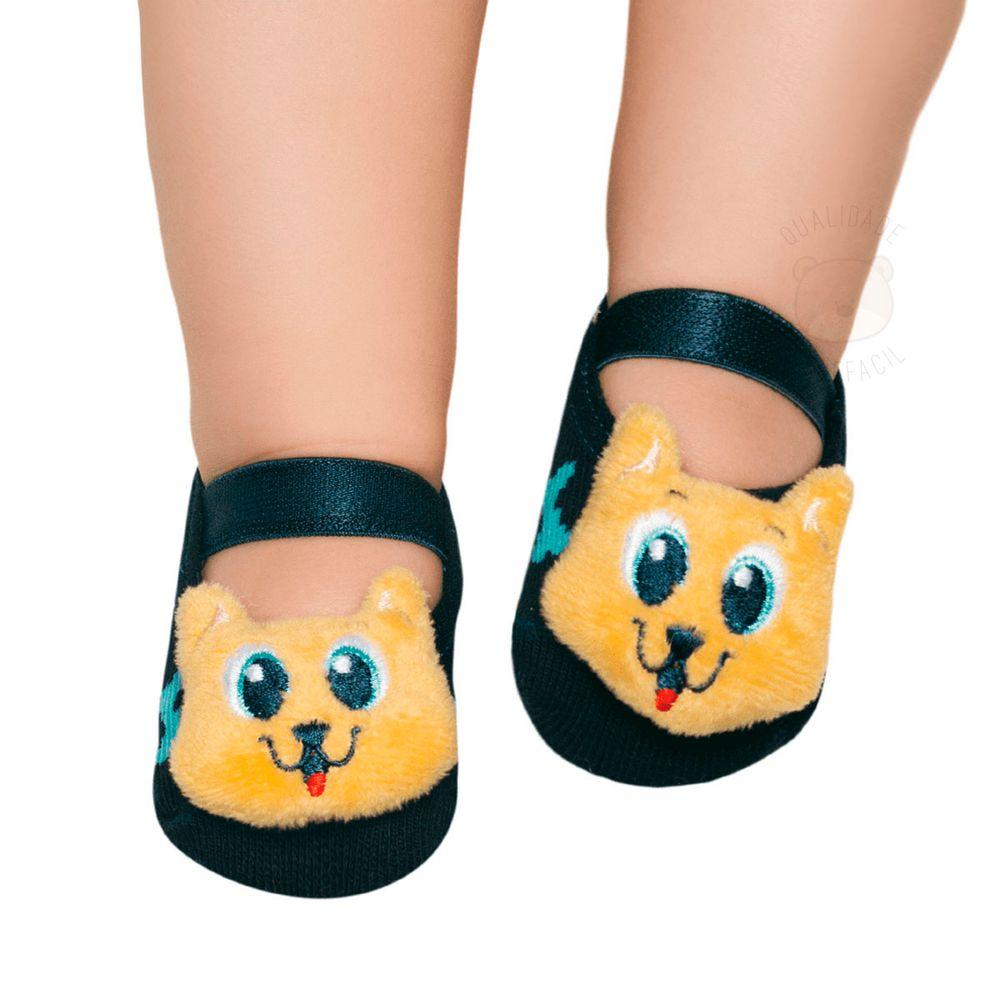 PK6957-DOG_A-moda-bebe-menino-meia-sapatilha-chocalho-dog-puket-no-bebefacil-loja-de-roupas-enxoval-e-acessorios-para-bebes