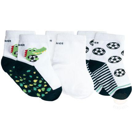 PK70845-JA_A-moda-bebe-menino-kit-3-meias-soquete-tripack-jacare-puket-no-bebefacil-loja-de-roupas-enxoval-e-acessorios-para-bebes