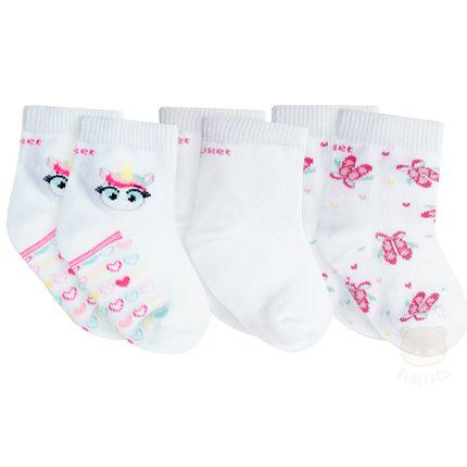 PK70848-UNI_A-moda-bebe-menina-kit-3-meias-soquete-tripack-unicornio-puket-no-bebefacil-loja-de-roupas-enxoval-e-acessorios-para-bebes