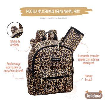 MB12ONC310-D-Mochila-Maternidade-Urban-Animal-Print---Masterbag