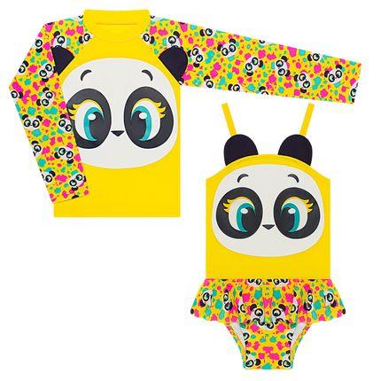 KIT1.PANDA_A-moda-menina-conjunto-banho-panda-camiseta-maio-lycra-puket-no-bebefacil-loja-de-roupas-enxoval-e-acessorios-para-bebes