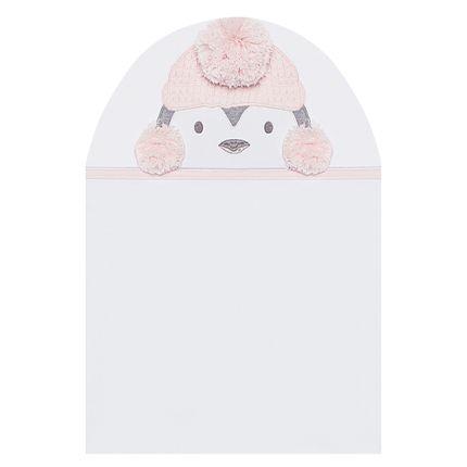 TMAS4764_A-enxoval-e-maternidade-bebe-menina-toalha-max-atoalhado-pinguinzinha-no-Bebefacil-loja-de-roupas-e-enxoval-para-bebes