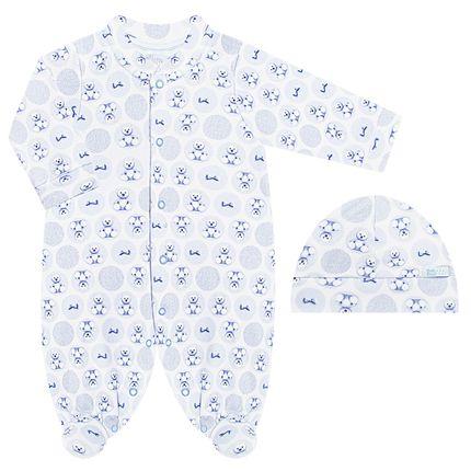 BB6274-AZ_A-moda-bebe-menina-macacao-longo-touca-algodao-egipcio-ursinhas-bth-bebe-no-bebefacil-loja-de-roupas-enxoval-e-acessorios-para-bebes
