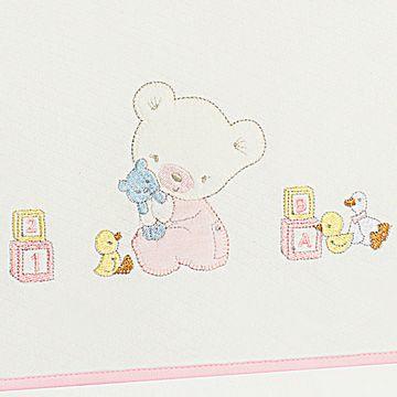 AB19503-202-B-enxoval-e-maternidade-bebe-menina-lencol-carrinho-fronha-em-malha-ursinha-anjos-baby-no-bebefacil-loja-de-roupas-enxoval-e-acessorios-para-bebes