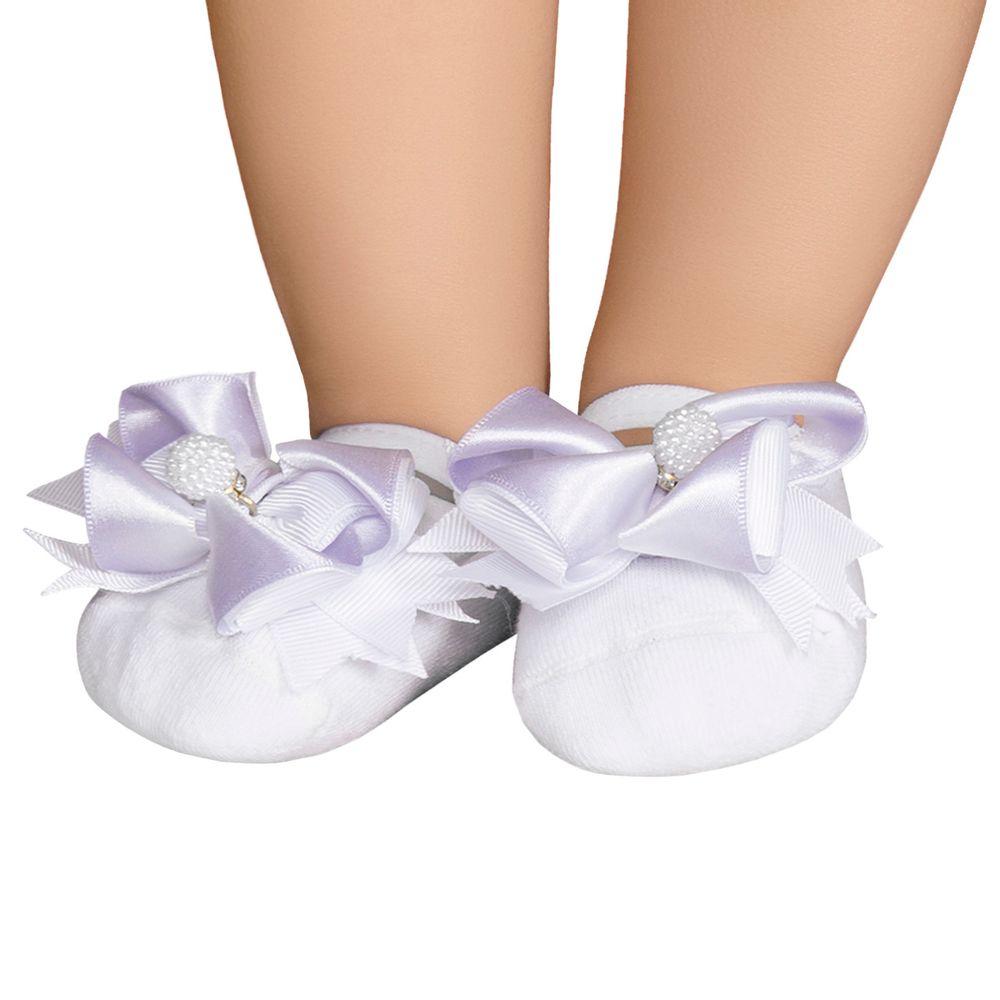 LK079.004_A-moda-bebe-menina-meia-sapatilha-laco-e-perolas-leke-no-bebefacil-loja-de-roupas-enxoval-e-acessorios-para-bebes
