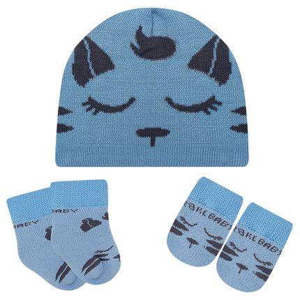 LK402.004_A-moda-bebe-menino-acessorios-kit-touca-luva-sapatinho-gatinho-leke-meias-no-bebefacil-loja-de-roupas-enxoval-e-acessorios-para-bebes