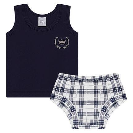 AB19552-209_A-moda-bebe-menino-conjunto-regata-cobre-fralda-suedine-xadrez-anjos-baby-no-bebefacil-loja-de-roupas-enxoval-e-acessorios-para-bebes