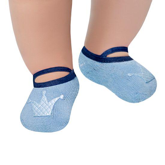 LK014.004_A-moda-bebe-menina-meia-sapatilha-king-azul-leke-no-bebefacil-loja-de-roupas-enxoval-e-acessorios-para-bebes