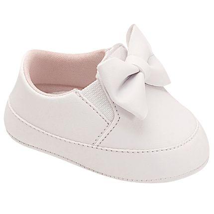 UNI578-020-sapatinho-bebe-menina-tenis-laco-branco-unipasso-no-bebefacil-loja-de-roupas-enxoval-e-acessorios-para-bebes