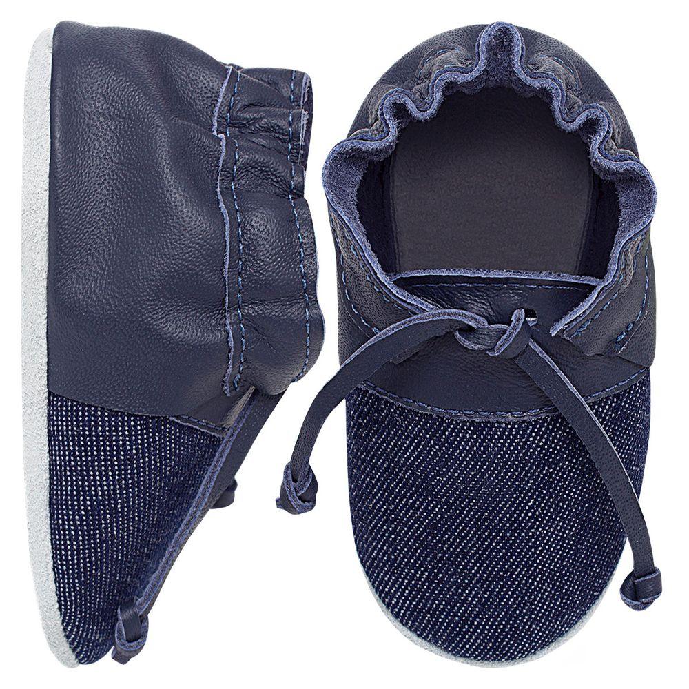 BABO72_A-sapatinho-bebe-menino-top-sider-jeans-marinho-babo-uabu-no-bebefacil-loja-de-roupas-enxoval-e-acessorios-para-bebes
