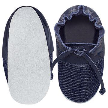 BABO72_B-sapatinho-bebe-menino-top-sider-jeans-marinho-babo-uabu-no-bebefacil-loja-de-roupas-enxoval-e-acessorios-para-bebes