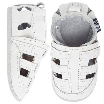 BABO76_A-sapatinho-bebe-menino-sandalia-franciscana-branca-babo-uabu-no-bebefacil-loja-de-roupas-enxoval-e-acessorios-para-bebes