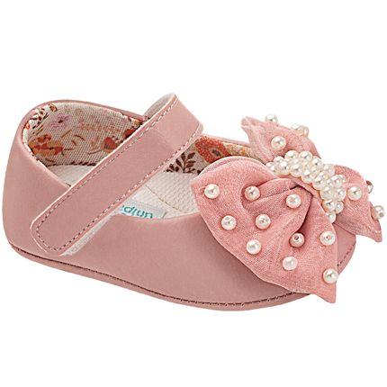 UNI568-447-sapatinho-bebe-menina-sapatilha-laco-e-perolas-rose-unipasso-no-bebefacil-loja-de-roupas-enxoval-e-acessorios-para-bebes