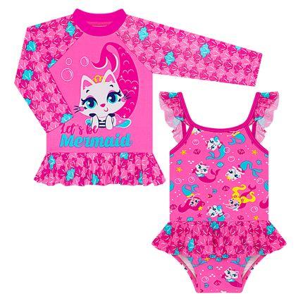 KIT1.GATINHA_A-moda-praia-bebe-menina-kit-camiseta-surfista-maio-babadinhos-lycra-gatinha-puket-no-bebefacil-loja-de-roupas-enxoval-e-acessorios-para-bebes