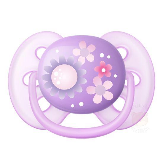SCF529-12-A-Chupeta-Ultra-Soft-Florzinhas-Tam-2--6-18m----Philips-Avent