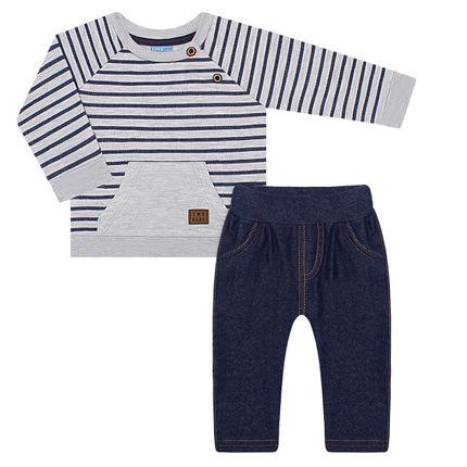 TMX4045-MC_A-moda-bebe-menino-conjunto-blusao-calca-fleece-denin-stripes-tmx-no-bebefacil-loja-de-roupas-enxoval-e-acessorios-para-bebes