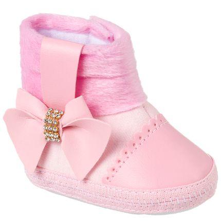 KB4019-7-A-Bota-para-bebe-Laco-Pink---Keto-Baby