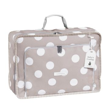 MB12BUB402.17-B-Mala-Maternidade-Vintage-Bubbles-Cinza---Masterbag
