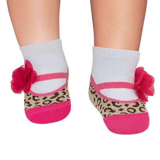 PK6935D_ON_A-moda-bebe-menina-acessorios-meia-sapatilha-oncinha-e-flor-puket-no-bebefacil-loja-de-roupas-enxoval-e-acessorios-para-bebes