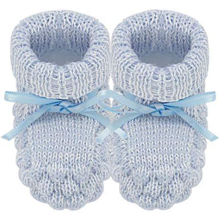16440034022_A-acessorios-bebe-menino-botinha-tricot-azul-mescla-roana-no-bebefacil-loja-de-roupas-enxoval-para-bebes