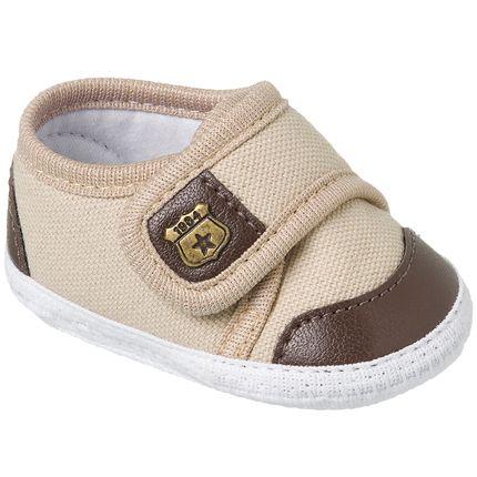 KB3232-12-A-Tenis-para-bebe-Bege-Marrom---Keto-Baby