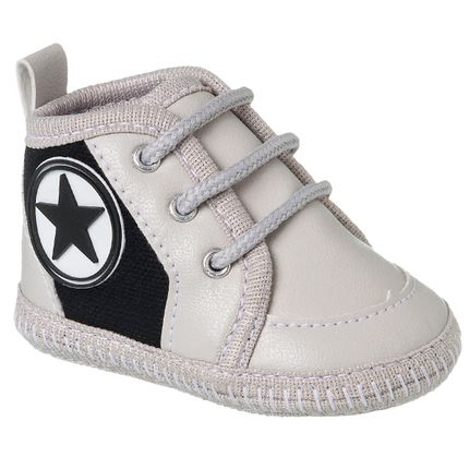 KB3240-182-A-Tenis-cano-alto-para-bebe-Star-Cinza---Keto-Baby
