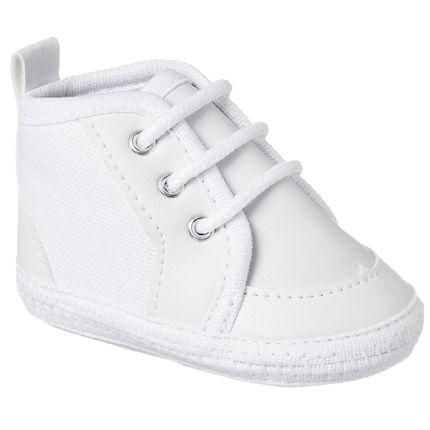 KB3240-45-A-Tenis-cano-alto-para-bebe-Branco---Keto-Baby