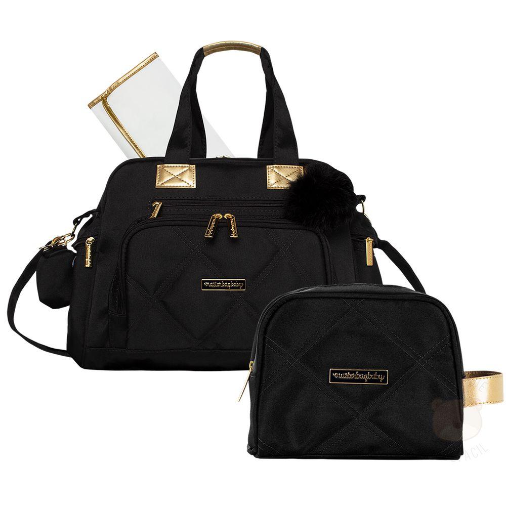 MB11SHO299.23---MB11SHO269-A-Bolsa-para-bebe-Everyday---Necessaire-Soho-Black---Masterbag