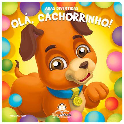 BLU672-A-Livro-infantil-Ola-Cachorrinho--Abas-Divertidas---Blu-Editora