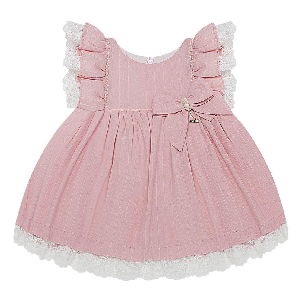 4658078A046-P_A-moda-bebe-menina-vestido-renda-e-perolas-rosa-rona-no-bebefacil-loja-de-roupas-enxoval-e-acessorios-para-bebes