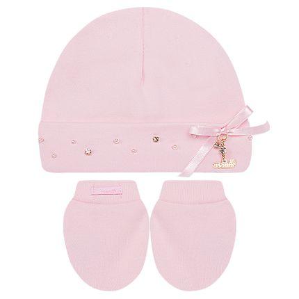 7026076_A-moda-bebe-menina-acessorios-kit-touca-luva-algodao-egipcio-perolas---strass-rosa-roana-no-bebefacil-loja-de-roupas-enxoval-e-acessorios-para-bebes