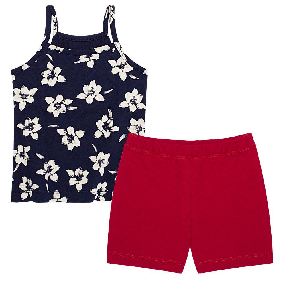PB9663_A-moda-bebe-menina-regata-shorts-cotton-flores-piu-blu-no-bebefacil-loja-de-roupas-enxoval-e-acessorios-para-bebes