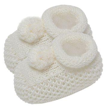 01018003031_C-sapatinho-bebe-menino-menina-sapatinho-tricot-pom-pom-marfim-roana-no-bebefacil-loja-de-roupas-enxoval-e-acessorios-para-bebes
