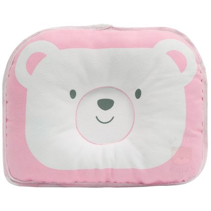 BUBA10722-A-Travesseiro-Anatomico-para-bebe-Urso-Rosa--0m-----Buba