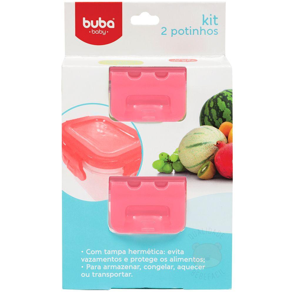 BUBA10762-A-Kit-2-Potes-Papinha-c-tampa-para-bebe-Rosa--6m-----Buba