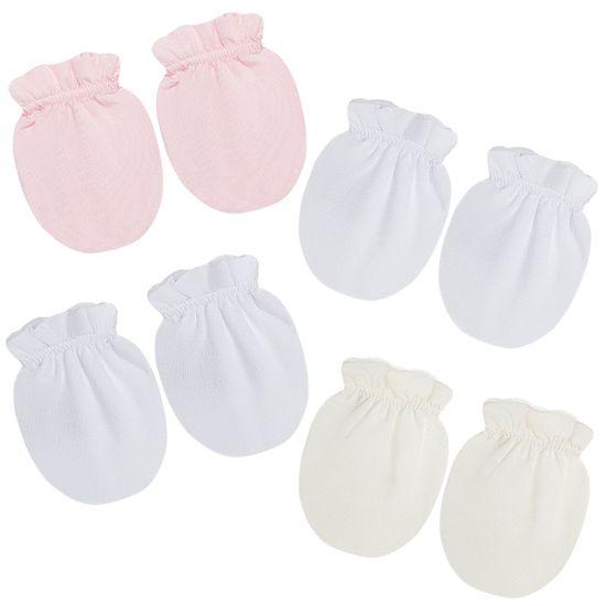 LUM00002394_A-moda-bebe-menina-acessorios-kit-4-luvas-malha-rosa-branca-marfim-roana-no-bebefacil-loja-de-roupas-enxoval-e-acessorios-para-bebes